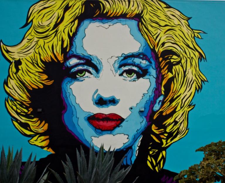 Melrose Marilyn (la, ca 2018)